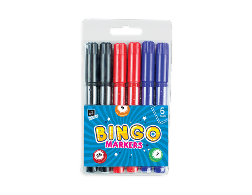 Lucky Bingo Markers - 6 Pack